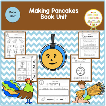 Making Pancakes Book Unit by Eric Carle
