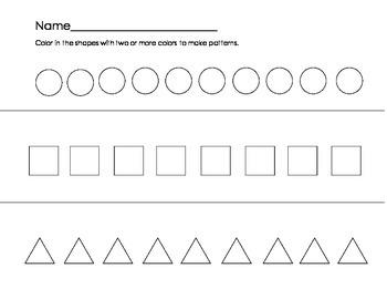Making Patterns