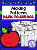 Making Patterns - Back to School