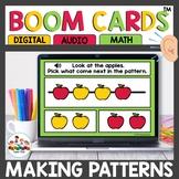 Making Patterns using Digital Task Cards Boom