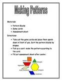 Making Patterns with pattern blocks