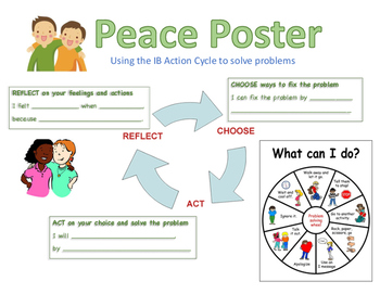 Making Peace Using the IB Action Cycle Poster