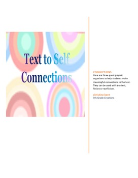 Making Personal Connections to Text GO