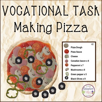 LIFE/VOCATIONAL TASK Making Pizza