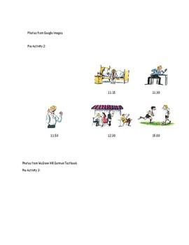 Lesson Plan Making Plans (NO PREP NECESSARY)