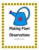 Making Plant Observations