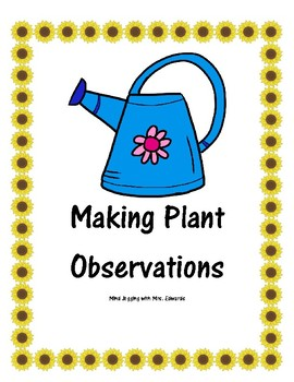 Making Plant Observations