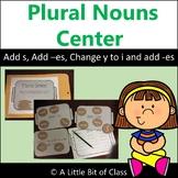 Making Plural Nouns Center Activity