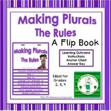 Making Plurals:  The Rules (a flip book)