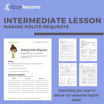 ESL Intermediate Material - Making Polite Requests