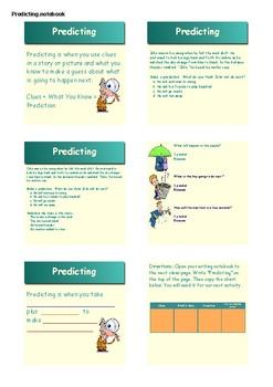 Making Predictions SMART NOTEBOOK Activities