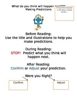 Making Predictions Anchor Chart