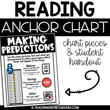 Making Predictions Reading Anchor Chart