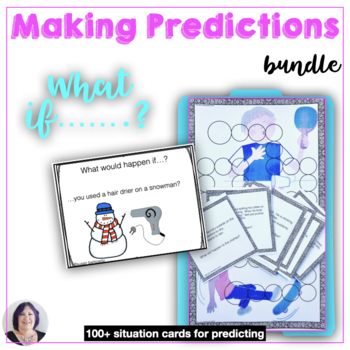 Making Predictions BUNDLE for speech therapy counseling special education