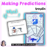 Making Predictions BUNDLE for speech therapy counseling sp