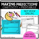 Making Predictions Craft, Printable Worksheet, Reading Com