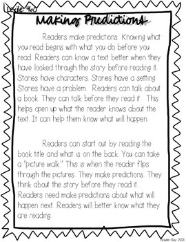 Making Predictions! {Differentiated Reading Passages & Questions}