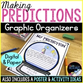 Making Predictions Worksheets: Paper and Digital Reading Graphic Organizers