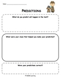Making Predictions Graphic Organizer - Universal