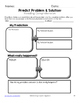 Making Predictions Graphic Organizers for Guided Reading