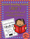Making Predictions Guided Reading Packet