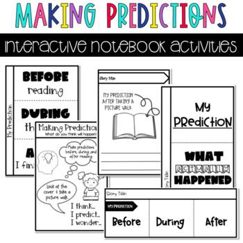 Making Predictions Interactive Notebook Activities