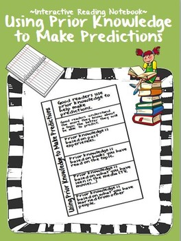 Making Predictions Interactive Notebook Page and PowerPoint