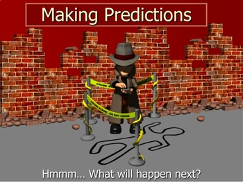 Making Predictions PowerPoint lesson and Interactive Notebook