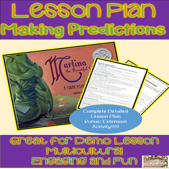 Making Predictions Lesson Plan and Activity - Martina the Beautiful Cockroach