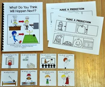 Making Predictions:  Making Predictions Adapted Book 1