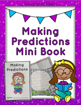 Making Predictions Mini-Book (print & go, no glue foldable)