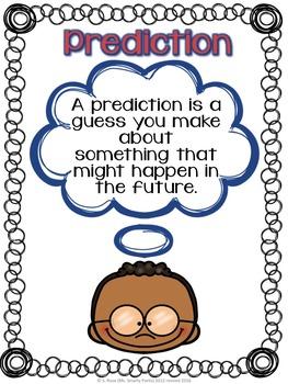 Making Predictions Organizer Pack