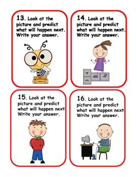 Making Predictions Reading Activity