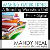 Making Predictions Reading Workshop Unit Print + Digital Bundle