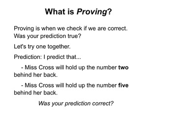 Making Predictions SmartBoard Mini-Lesson