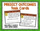 Making Predictions Task Card and Poster Set