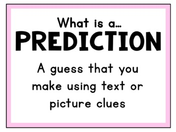 Making Predictions Task Cards + Option for Inference Practice
