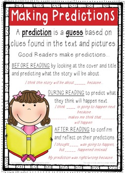 Making Predictions Teacher Resource Packet