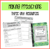 Making Predictions Unit Resources!