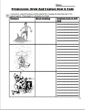 Making Predictions: Using Clues: 10 Worksheets/Lessons