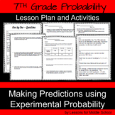 7th Grade Math - Probability -Making Predictions Using Experimental Probability
