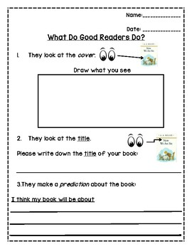 Reading Comprehension Passages - predicting skills for first grade ...