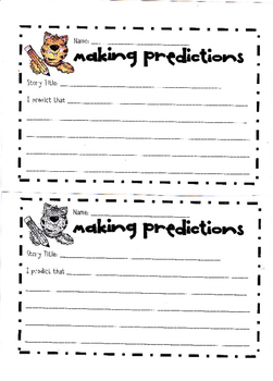 make and confirm predictions worksheets 2nd grade – streamclean.info