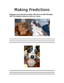 Making Predictions: Writing Prompts