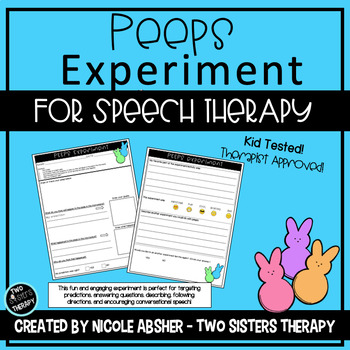 Making Predictions a Peeps Experiment for Speech and Language Therapy