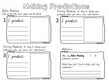 Making Predictions activity