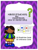 Making Predictions and Inferences Playing Cards