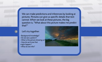 Making Predictions and Inferences Through Pictures (Predicting and Inferring)