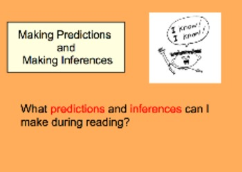 Making Predictions and Inferences: What are the differences?