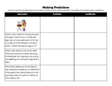 Making Predictions and Justifying